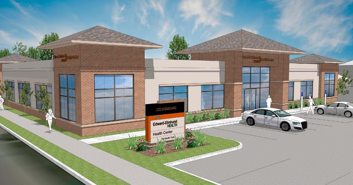 Edward Elmhurst Health, Morgan Harbour, Medical Office Building